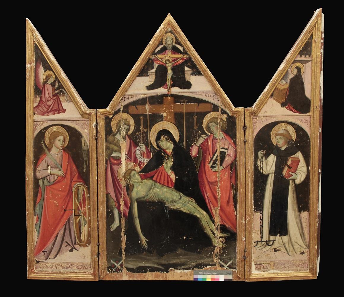 trittico la pieta - museo correale