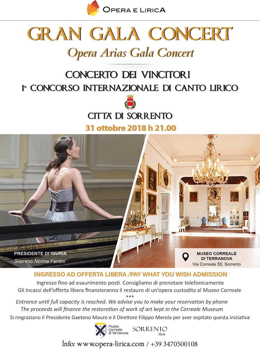 Gran Gala Concert - Adotta un'opera Museo Correale
