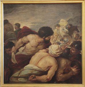 Sansone contro i Filistei - Museo Correale di Terranova - Sorrento